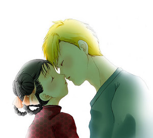 Al Elric, Mei Chang, First Kiss