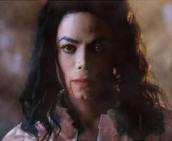 This is how michael looked when samie woke up.