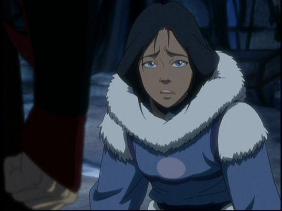 9. Kya, mother to Katara. She is really my favoriete character, she even lied to protect her daughther. She is a true-loving mother.