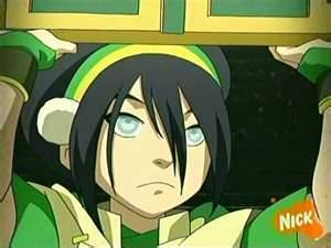 5. Toph. The best Earthbender in the whole wide world - she can even Metalbend! I really like her very much..