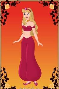 Aurora as Jasmine, credit goes to Azaleasdolls.com