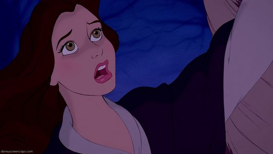 Belle felt helpless as she watched Beast getting torn apart to save her from this hideous monster before her.