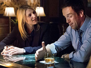 """I'M GETTING PRETTY CLOSE.' After Brody invited Carrie to """"bury the hatchet"""" over a drink, the ex-lovers' conversation took some wildly unexpected turns."""