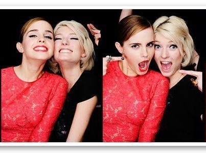 I hope our friendship will be like Emma and Sophie♥You'll be my Emma and I'll be your Sophie♥(It's quite weird because I'm Sophie too XD)
