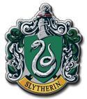 The crest of Slytherin