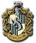 The crest of Hufflepuff