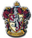 The crest of Gryffindor.