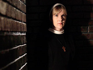 What Evil Lurks In The Hearts Of Men? Only Sister Mary (Lily Rabe) knows. AND THE DEVIL INSIDE HER.
