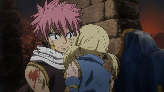 Natsu and Lucy from the movie ♥