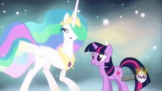 Princess Celestia has access to some sort of astral plane. Princess Celestia is the one who told Twilight that is time for her to fulfill her destiny.