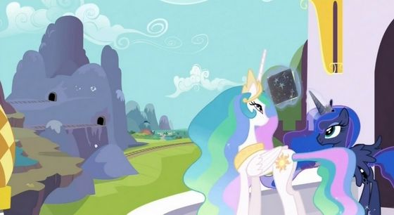 Both Luna and Celestia are aware of Twilight's destiny.