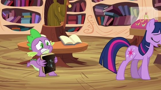 Starswirl the Bearded left a journal with an unfinished spell. The completion of this spell made Twilight an alicorn.