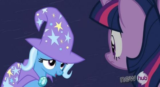 Trixie returned in Magic Duel to seek revenge, but ended up getting redemption.