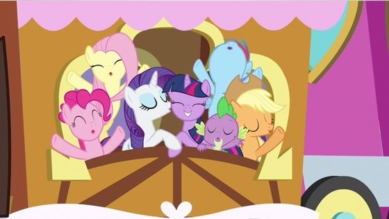 6. Music: The Crystal Empire - 3 songs: The Failure Song, The Success Song, and The Ballad of the Crystal Ponies