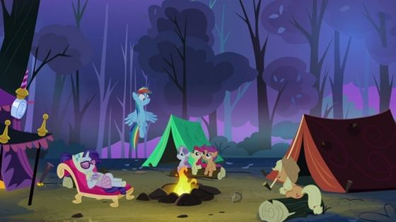 8. Scootaloo Episode: The first Scootaloo episode was Sleepless in Ponyville. This episode is a camping episode as well as a nightmare episode.