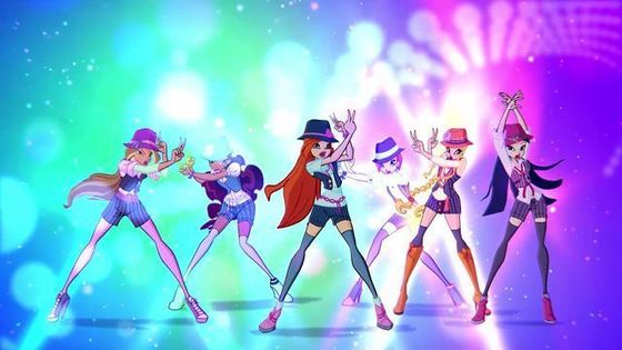 Winx club new season 5 band outfits