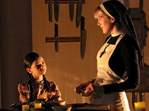 "Pass The Nutmeg. Sister Mary shares her recipe for being devilish with Creepy Jenny in ""The Origins Of Monstrosity."""