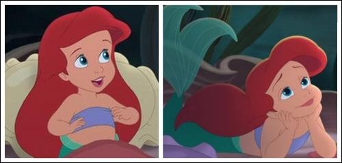 Position #41 Ariel's Childhood Bra