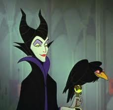 Maleficent as the Ghost of क्रिस्मस Past