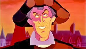 Frollo as the Ghost of क्रिस्मस Yet to Come