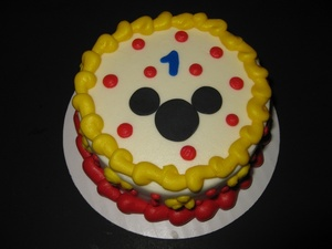 my 1st birthday cake