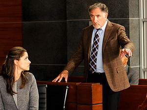 JUDGE JUDD Will believes guest star, sterne Judd Hirsch is biased against him and his client.