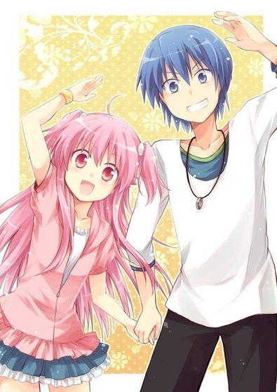 ~Hinata and Yui~