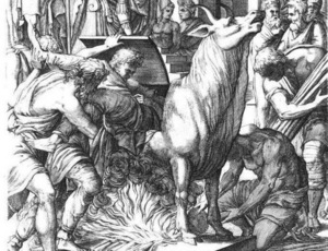 The brazen bull an execution device