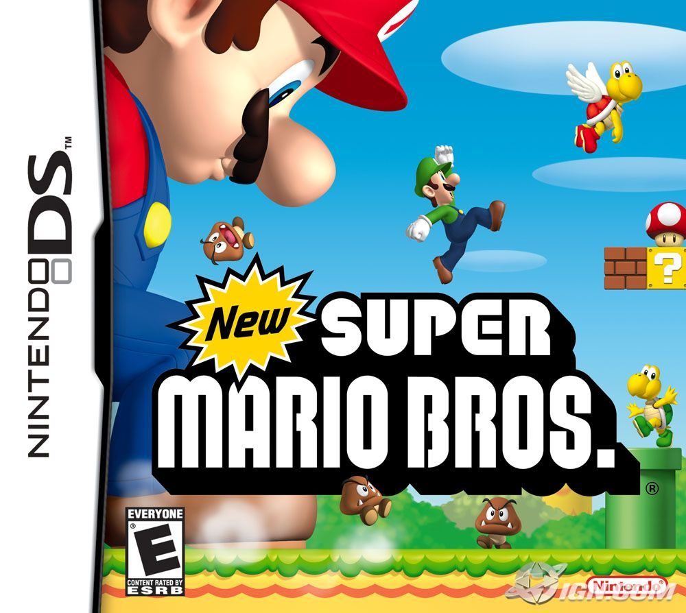 How To Be Luigi In New Super Mario Bros And In New Super