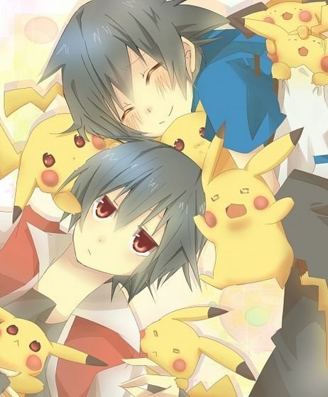 Irra and Lexi w/Irra's Pikachu doll collection