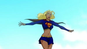 What Supergirl looks like to Conner.