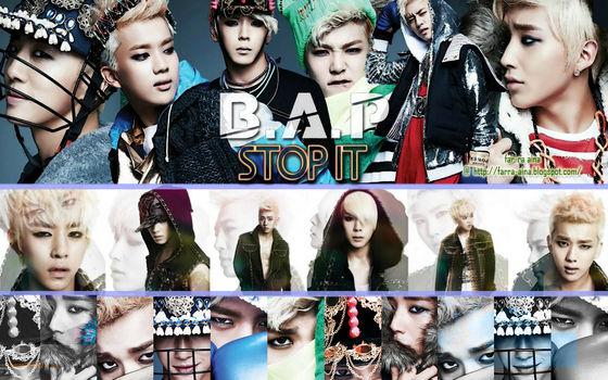 B.A.P-Stop It 3rd Mini Album