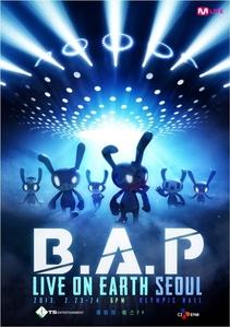 B.A.P LIVE ON EARTH SEOUL