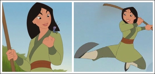 Position #21 Mulan's Training Outfit