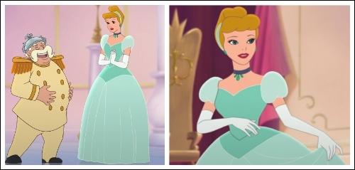 Position #28 Cinderella's Green Ballgown
