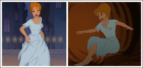 Cinderella ripped dress costume