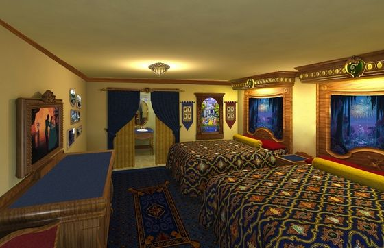 Royal guest rooms!