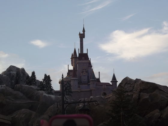 Beast's गढ़, महल in New Fantasyland!