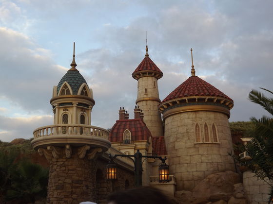 Prince Eric's गढ़, महल in New Fantasyland!
