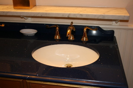 the sink was Genie's lamp!