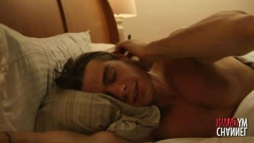 Matthew looking hot in bed