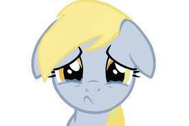 Sad Derpy D: