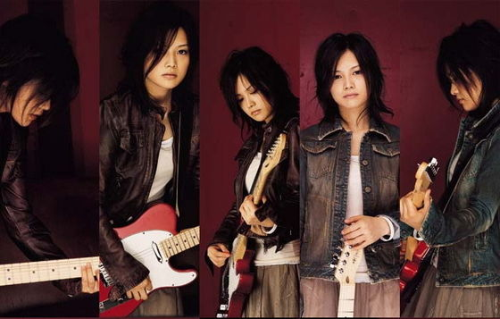 YUI promoting the single