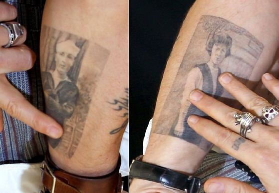 My Body is My Journal - Johnny Depp - Fanpop