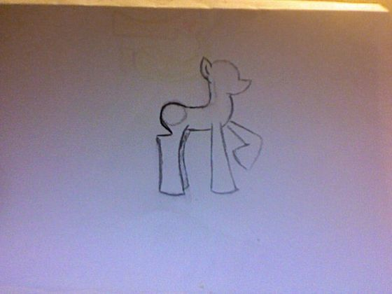 how to draw a my little pony pegasus