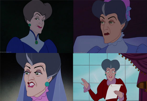 27) Lady Tremaine outranks her daughters