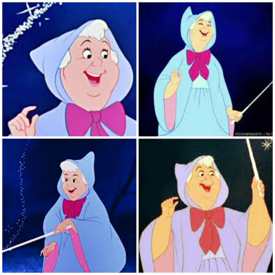 24) The fairy godmother turns 신데렐라 into the belle of the ball... and she?