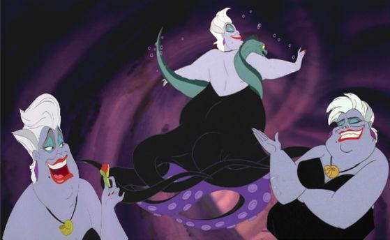 33) Ursula has charisma but not beauty