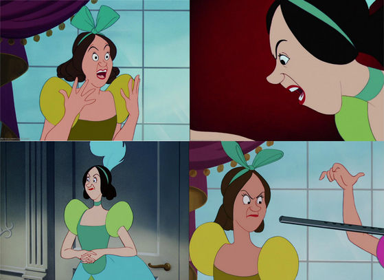 30) The ugliest stepsister is Drizella