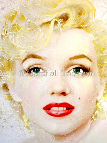 The Marilyn Monroe portrait sa pamamagitan ng David Willardson